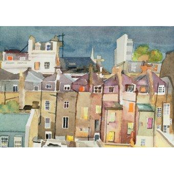 - Quadro -View from Rear Window of 48 Chester Square, SW1, 1982- - Godlewska de Aranda, Izabella