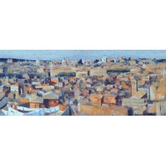 - Quadro -Rome, View from the Spanish Academy on the Gianicolo, 1968- - Godlewska de Aranda, Izabella