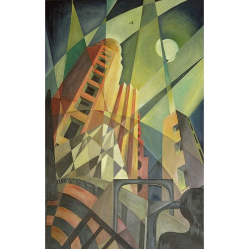 Quadro  -City in Shards of Light-