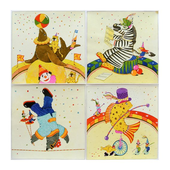 Quadro -Animal Circus II-