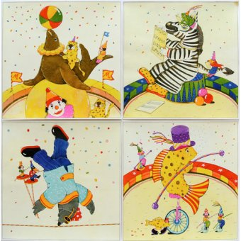 - Quadro -Animal Circus II- - Kaempf, Christian