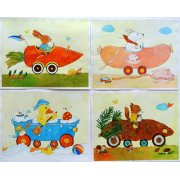 Quadro -Animal Cars-