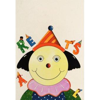 quadros infantis - Quadro -Party Clown- - Kaempf, Christian
