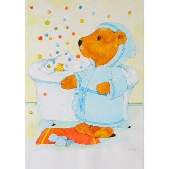 quadros infantis - Quadro -Bathroom- - Kaempf, Christian