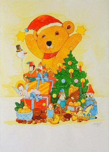 quadros-infantis - Quadro -Christmas Tree- - Kaempf, Christian