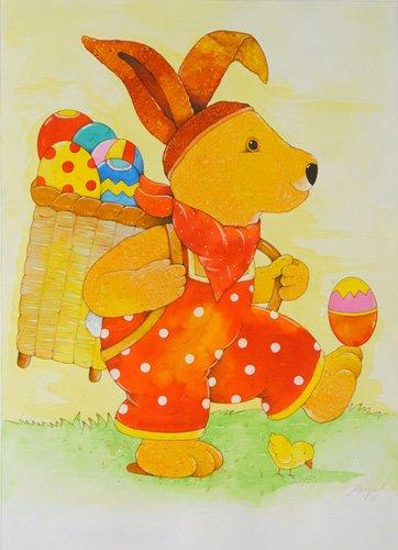 quadros-infantis - Quadro -Easter- - Kaempf, Christian