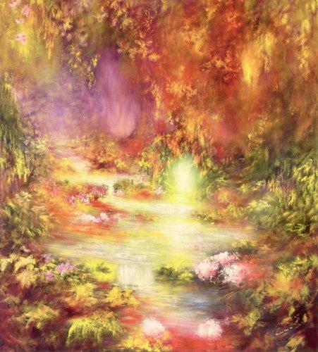 quadros-de-paisagens - Quadro - Tropical Scenery, 1990 (oil on canvas) - - Mane, Hannibal