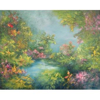 quadros de paisagens - Quadro -Tropical Impression, 1993- - Mane, Hannibal