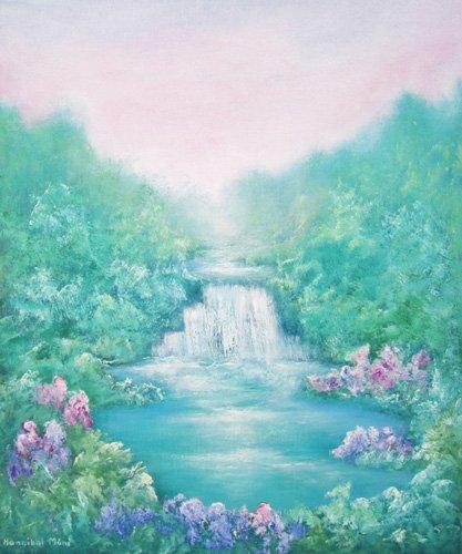quadros-de-paisagens - Quadro  -The Sound of Water, 2012- - Mane, Hannibal