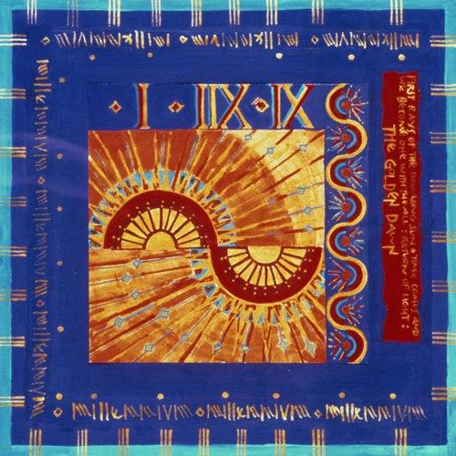quadros-etnicos-e-orientais - Quadro -Millennium 'Golden Dawn'- - Manek, Sabira