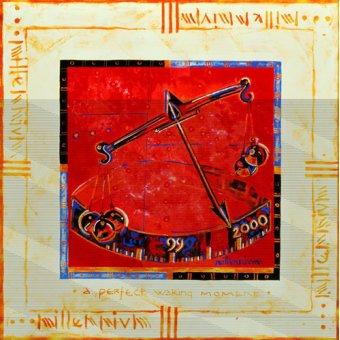 quadros étnicos e orientais - Quadro -Millennium 'Scales'- - Manek, Sabira