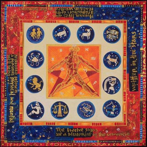 quadros-etnicos-e-orientais - Quadro -Astrology, 1999- - Manek, Sabira