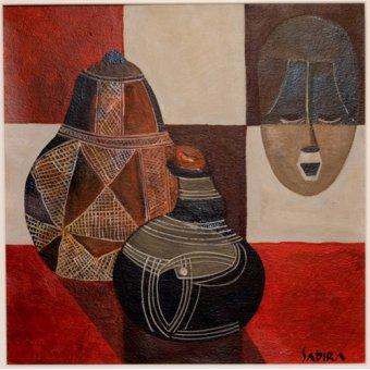 quadros étnicos e orientais - Quadro -Nywa, 2007- - Manek, Sabira