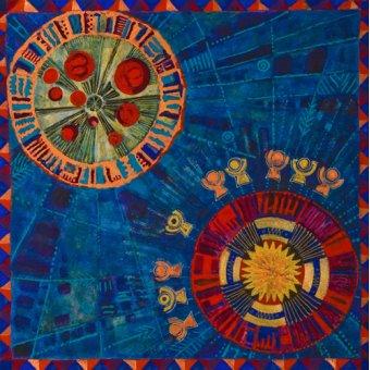 quadros étnicos e orientais - Quadro -Sunfan 2, 2008- - Manek, Sabira