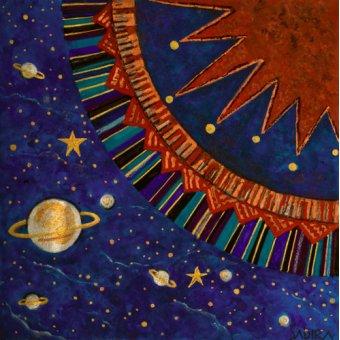 quadros étnicos e orientais - Quadro -Sunfan 1, 2008- - Manek, Sabira