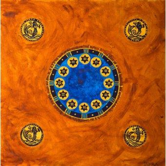 quadros étnicos e orientais - Quadro -Neptune, 2008- - Manek, Sabira