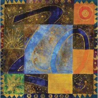 quadros étnicos e orientais - Quadro -80-20, 2009- - Manek, Sabira