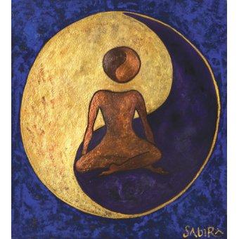 quadros étnicos e orientais - Quadro -Buddha One, 2009 - - Manek, Sabira
