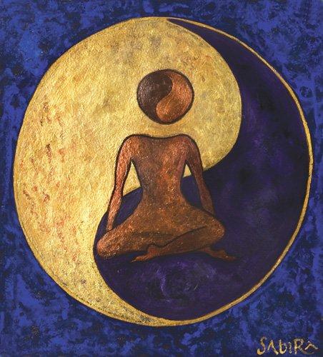 quadros-etnicos-e-orientais - Quadro -Buddha One, 2009 - - Manek, Sabira