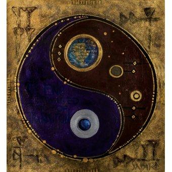 quadros étnicos e orientais - Quadro -Gemini-Sagitarius, 2009 - - Manek, Sabira