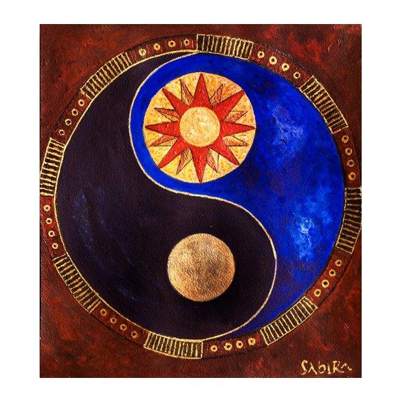 Quadro -Sun-Moon, 2009-
