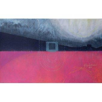 Quadros abstratos - Quadro  -Glyndebourne, 2000 (oil on linen)- - Millar, Charlie