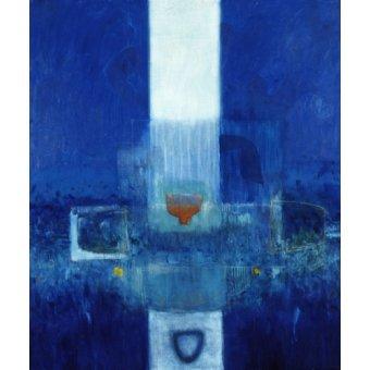 Quadros abstratos - Quadro -Parsifal, 1995 (oil on linen)- - Millar, Charlie