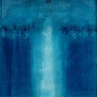 - Quadro  -Untitled blue painting, 1995 (oil on canvas)- - Millar, Charlie