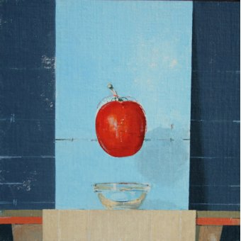Quadros abstratos - Quadro  -The Tomato- - Millar, Charlie