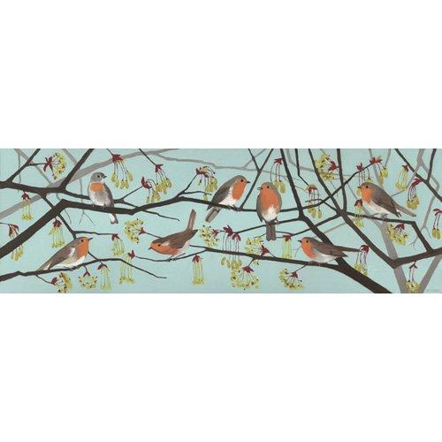 Quadro - Harbingers of Spring, 2015 (oil on wood panel) -