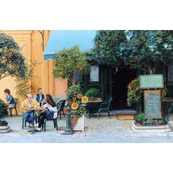 - Quadro -Cafe, Aix-En-Provence, 1999- - Neal, Trevor