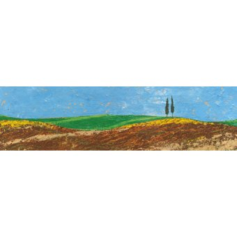 - Quadro -Two Trees, Rolling Hills, Tuscany, 2005- - Neal, Trevor