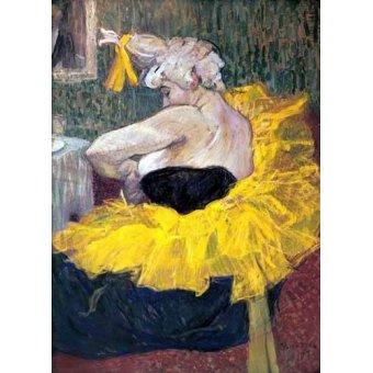 - Quadro -La payasa Cha-u-Kao- - Toulouse-Lautrec, Henri de