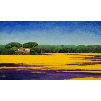 - Quadro -Tuscan Landcape, 2010- - Neal, Trevor