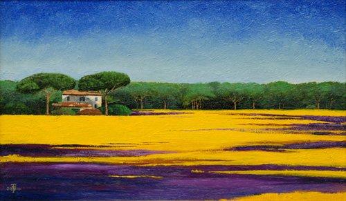 quadros-de-paisagens - Quadro -Tuscan Landcape, 2010- - Neal, Trevor