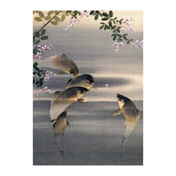 ethnic and oriental paintings - Picture -Peces-