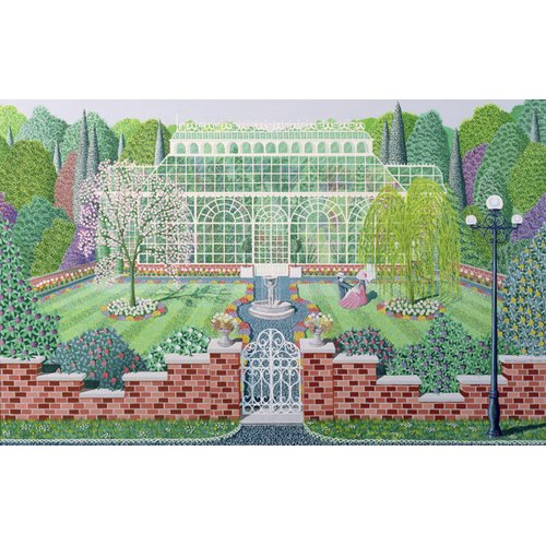 Quadro - The Greenhouse in the Park -