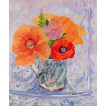 quadros de flores - Quadro -The Red Poppy, 2000- - Patrick, Ann