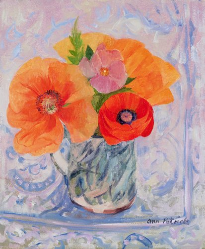 quadros-de-flores - Quadro -The Red Poppy, 2000- - Patrick, Ann