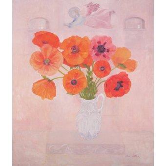quadros de flores - Quadro -Giotto's Angel, 2000- - Patrick, Ann