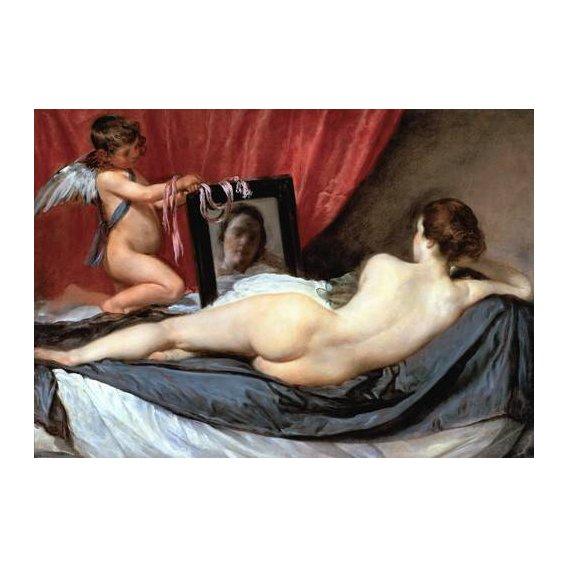 cuadros de retrato - Cuadro -Venus delante del espejo-