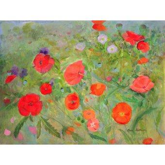 quadros de flores - Quadro -Arpeggiando, 1998- - Patrick, Ann
