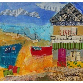 - Quadro - B&B by the Sea 2013, acrylic.paper collage- - Paul, Sylvia