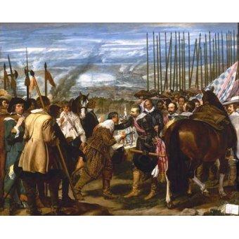 - Quadro -Rendición de Breda (Las lanzas)- - Velazquez, Diego de Silva