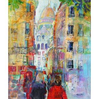 - Quadro - An Evening Walk to Sacre Coeur- - Paul, Sylvia
