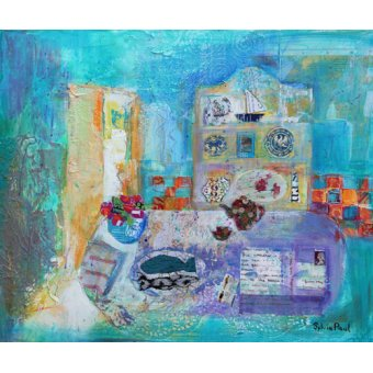 - Quadro - Seaside Kitchen- - Paul, Sylvia
