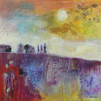 Quadros modernos - Quadro - Hot Summer Sun- - Paul, Sylvia