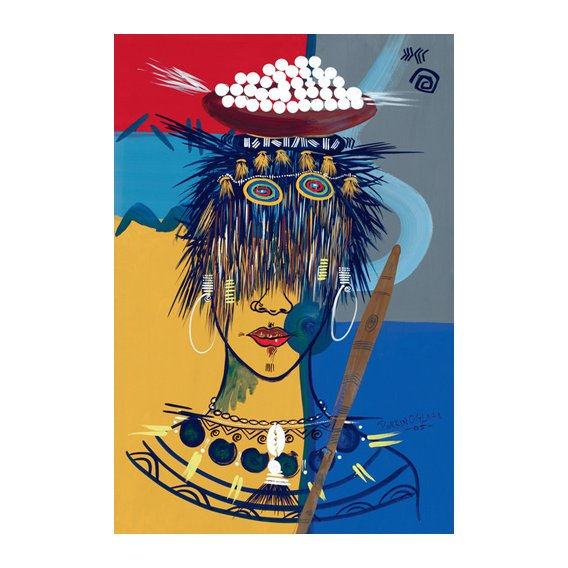 Quadro -African Beauty 3, 2005-