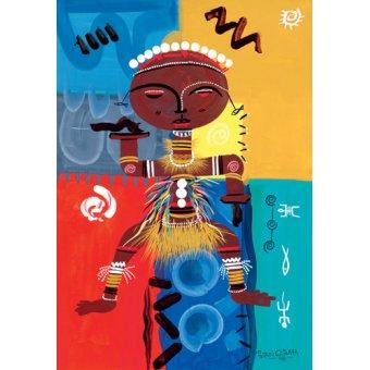 quadros étnicos e orientais - Quadro -Ashanti, 2004- - Perrin, Oglafa Ebitari
