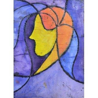pinturas de retratos - Quadro -Camille- - Pontes, Guilherme